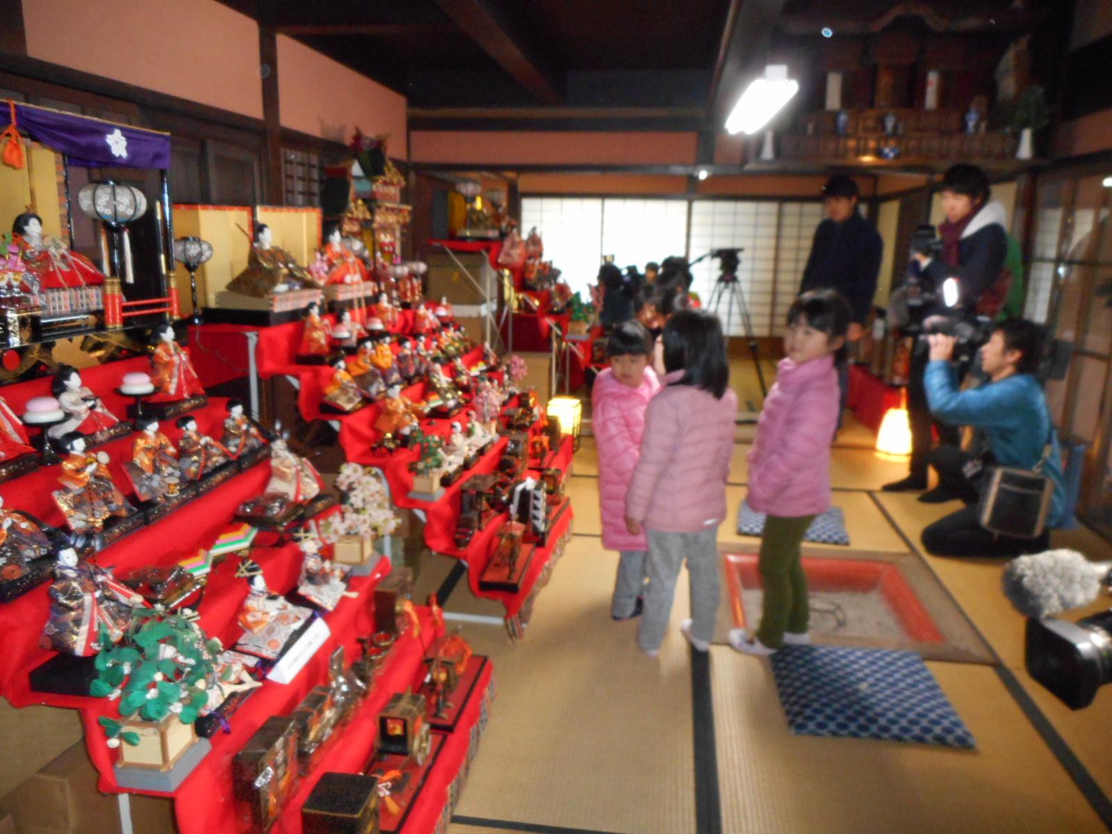 出石史料館特別展「城下町のおひなさま」